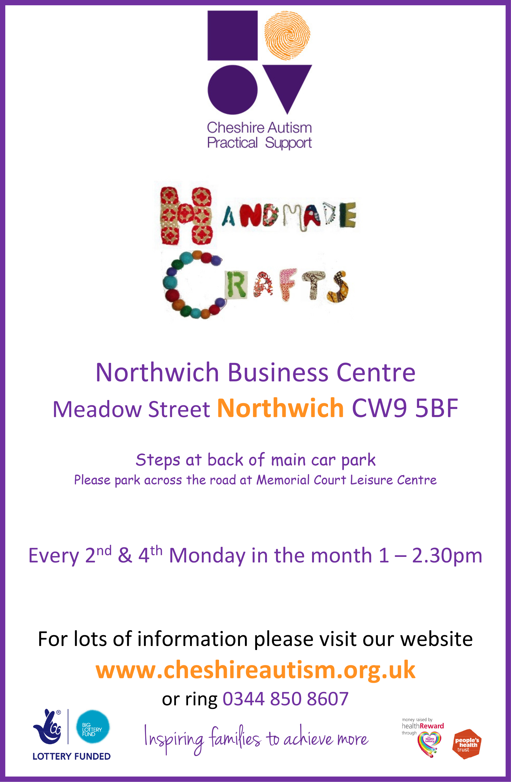 Microsoft Word - Crafty Club Northwich A4