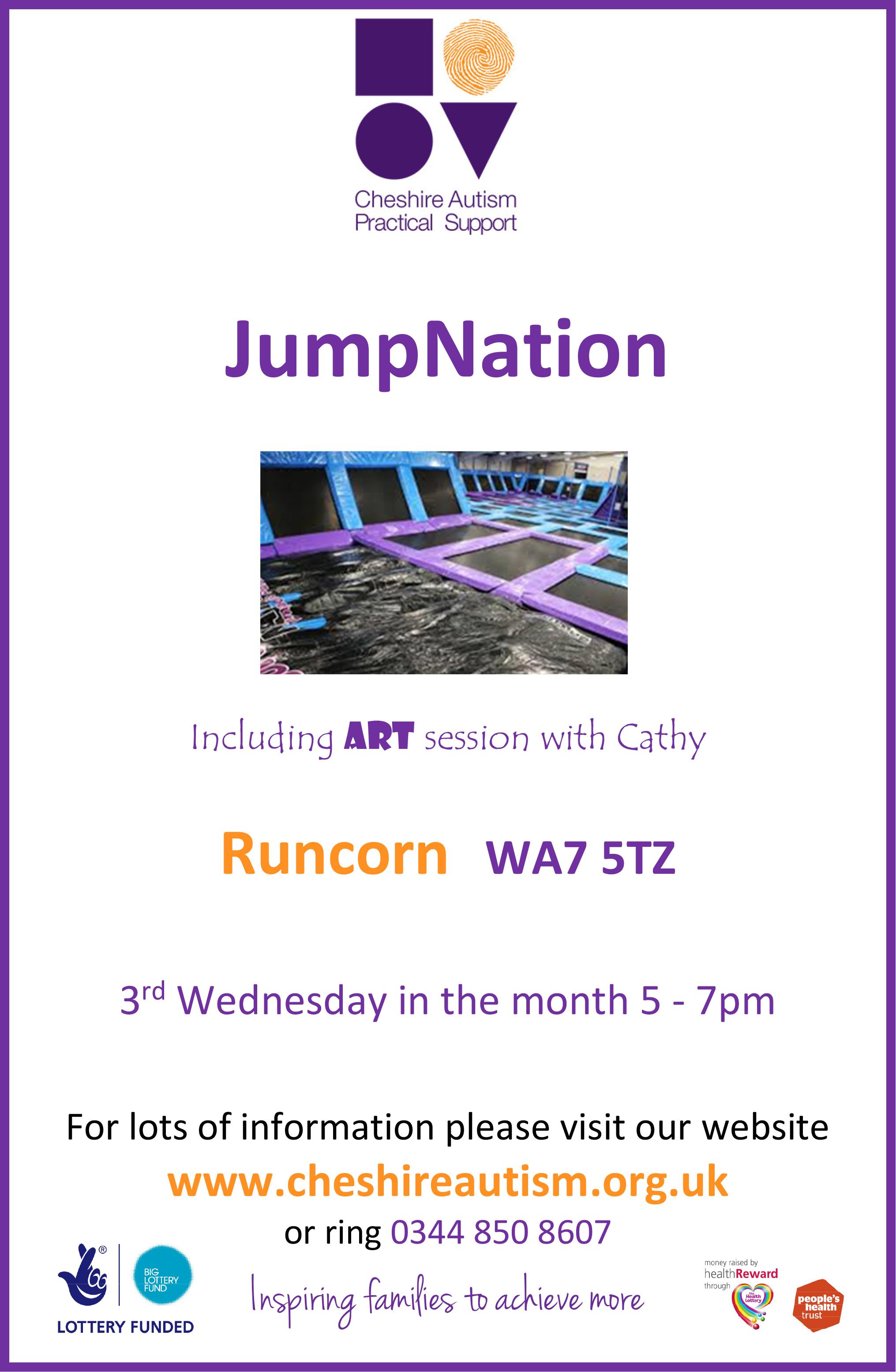 JumpNation Trampoline A4