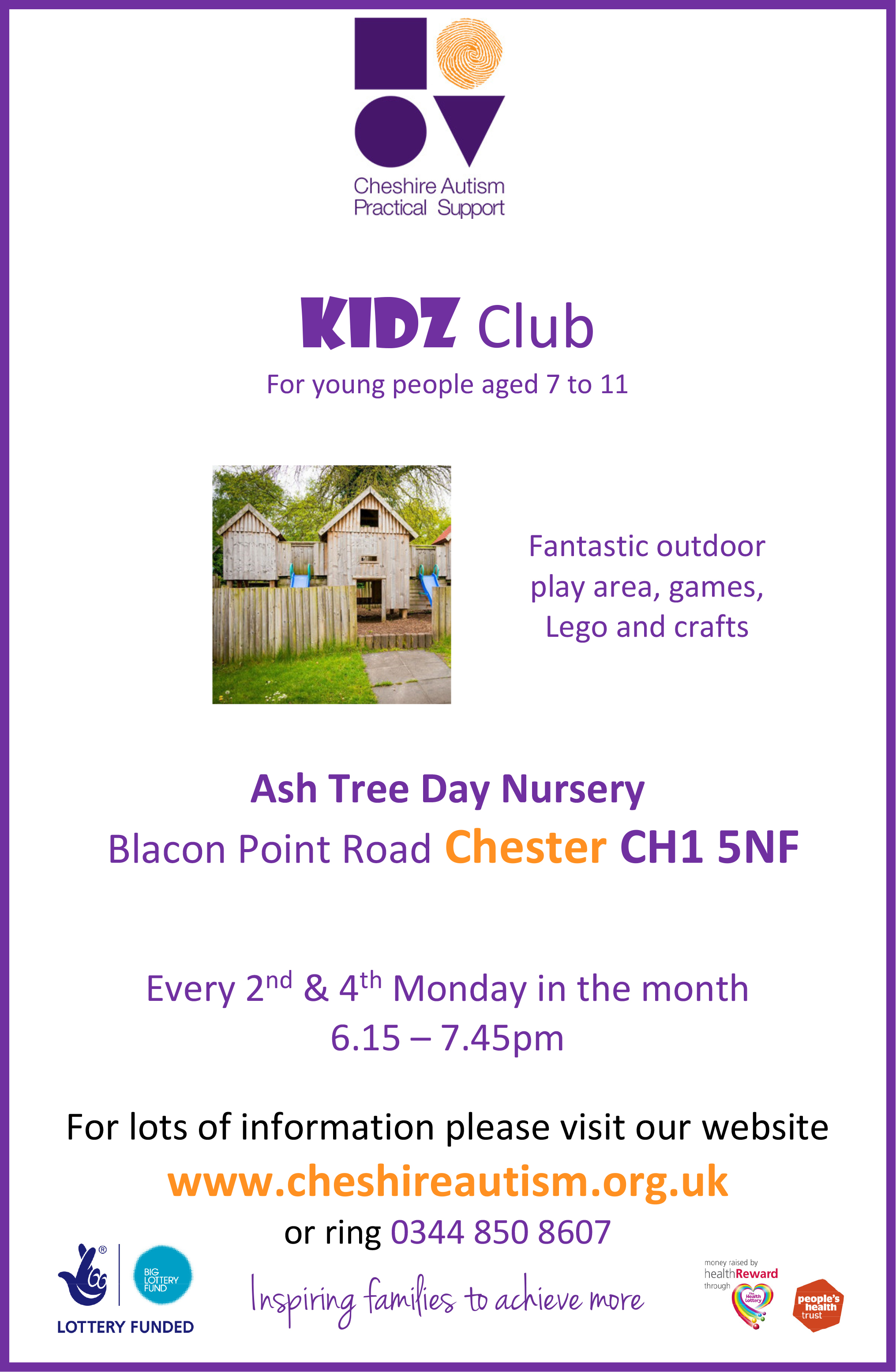 Kidz Club Blacon A4