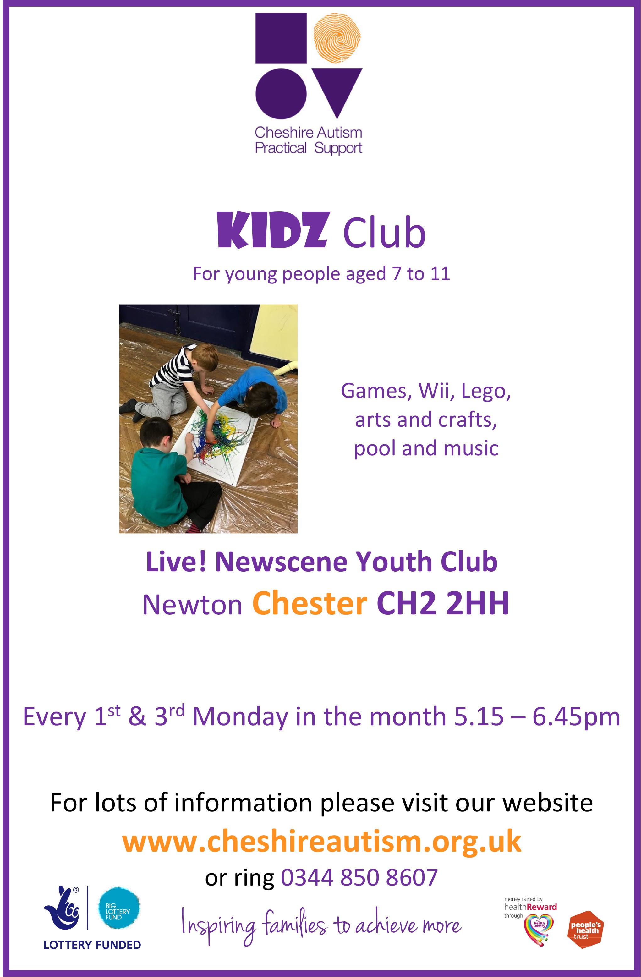 Kidz Club Chester A4