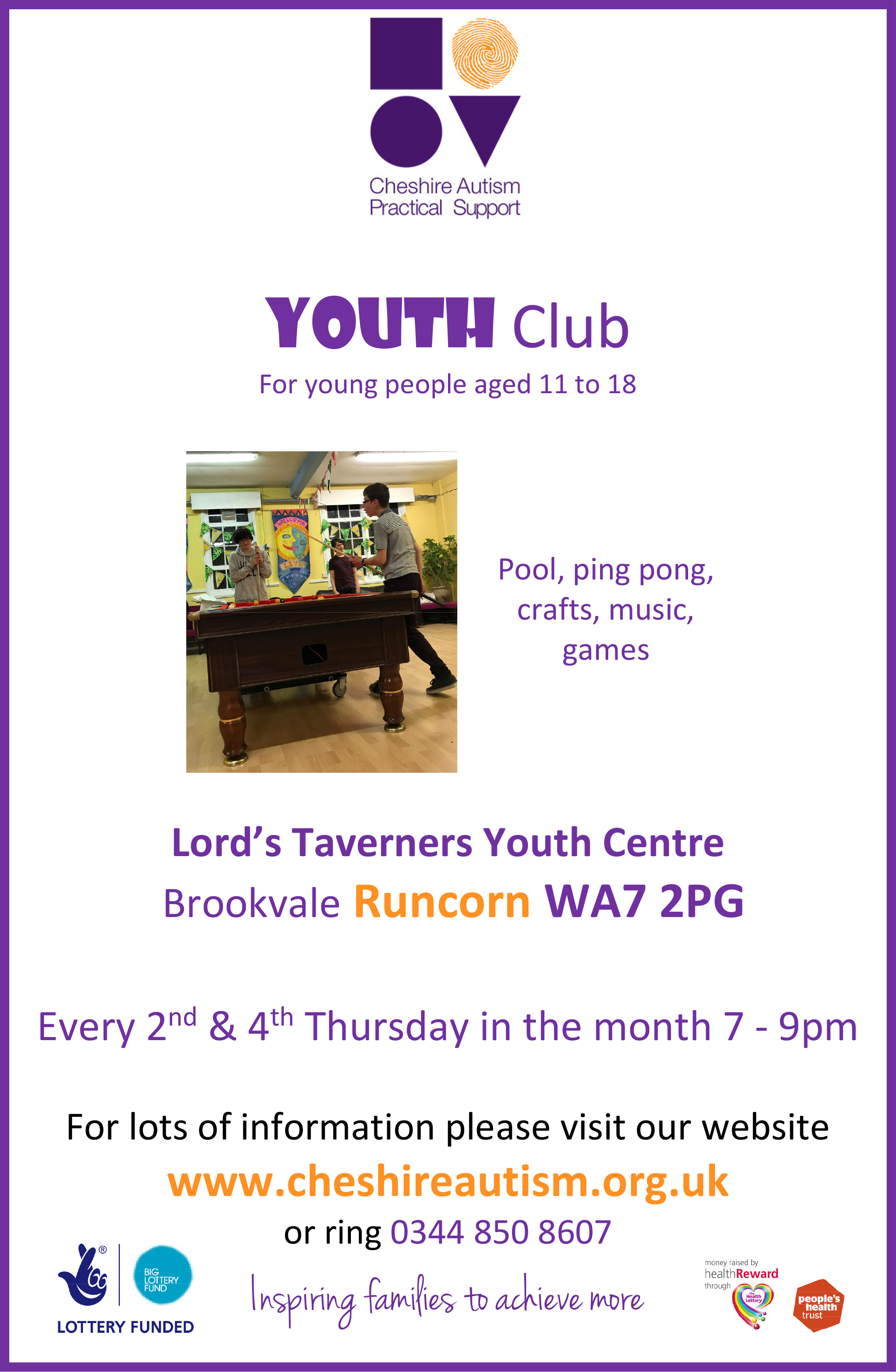 Youth Club A4