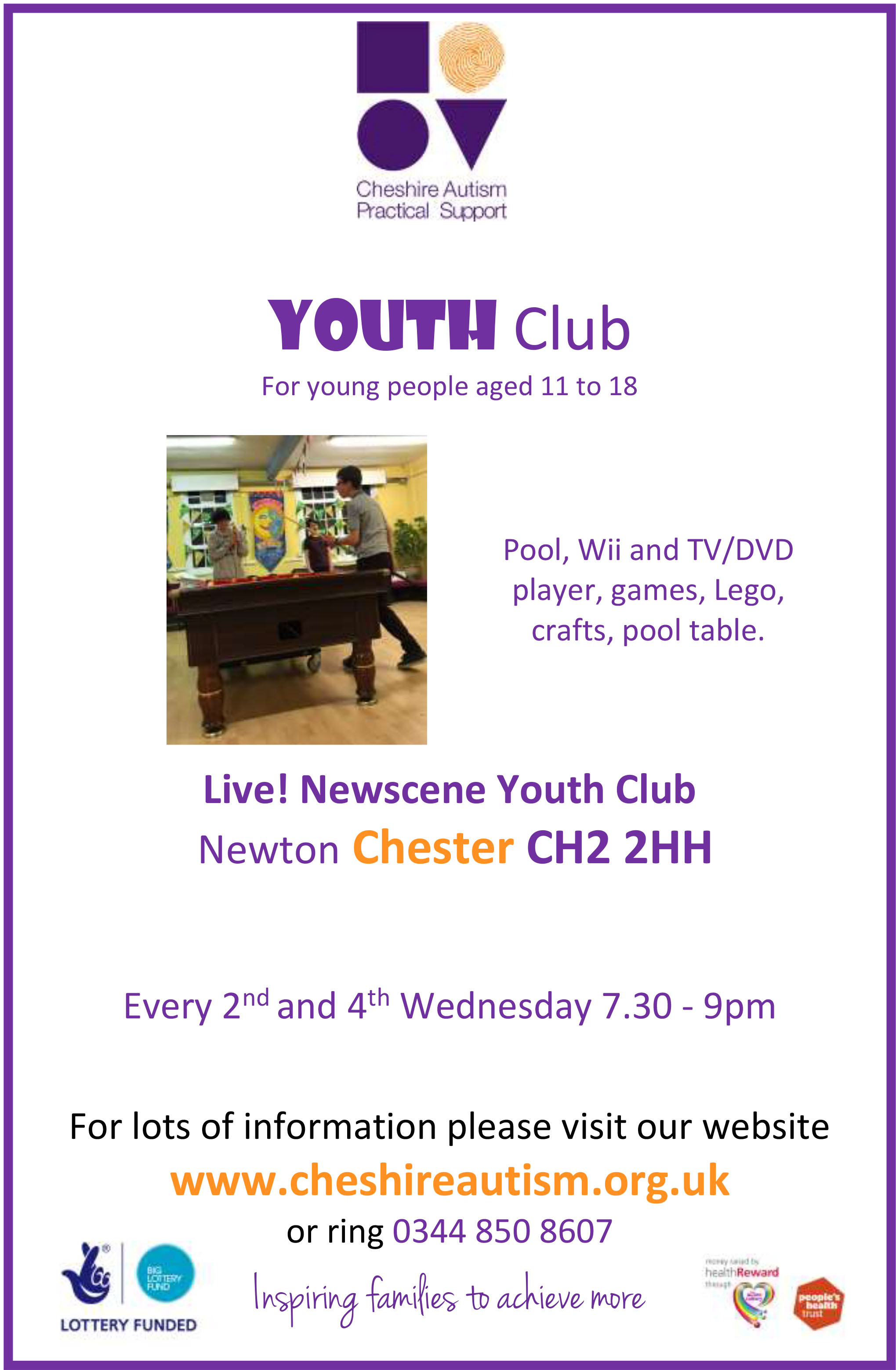 Youth Club Chester A4