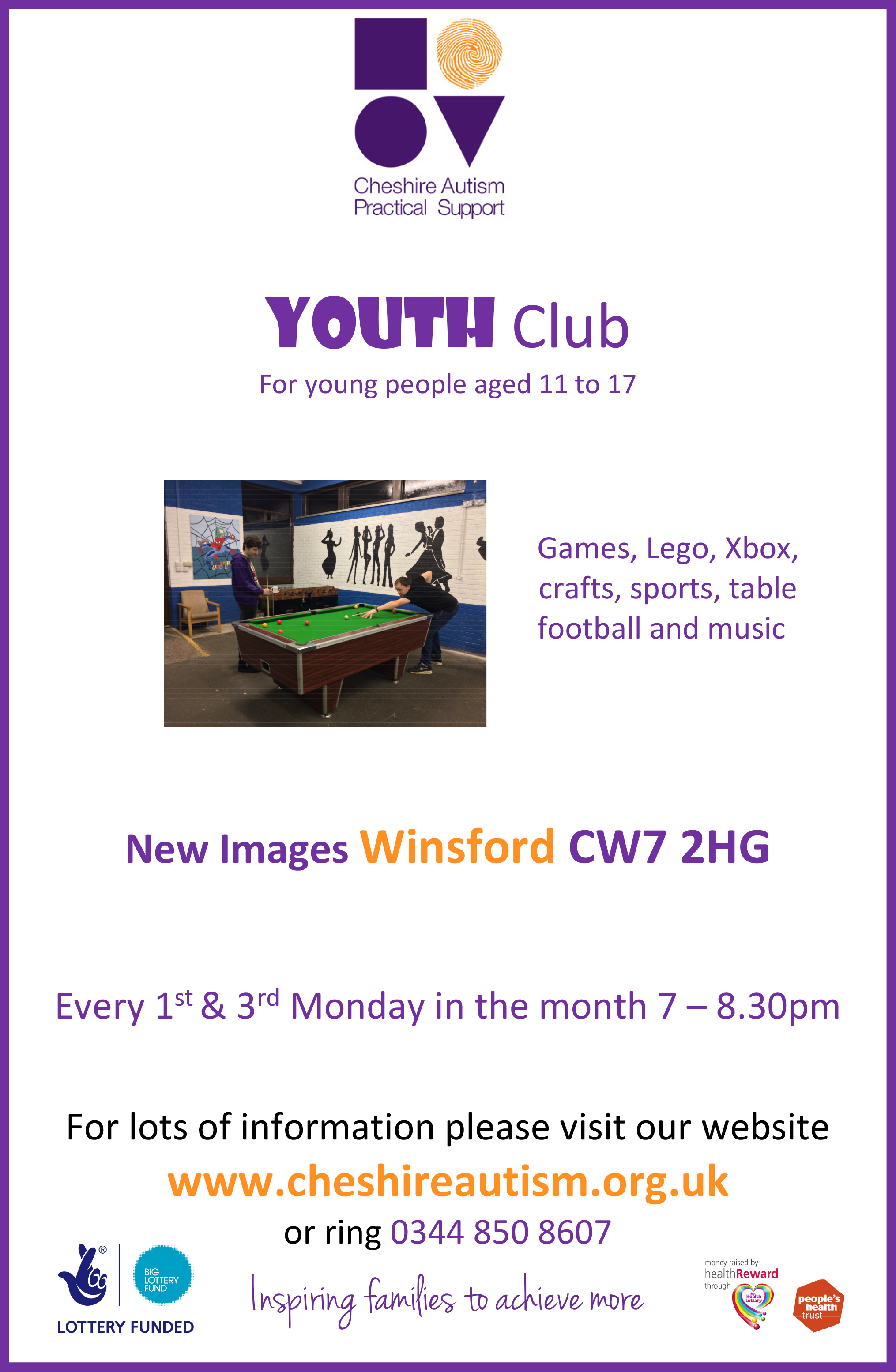 Microsoft Word - Youth Club Winsford A4