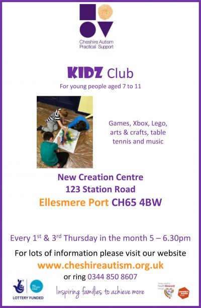 Kidz Club Ellesmere Port A4
